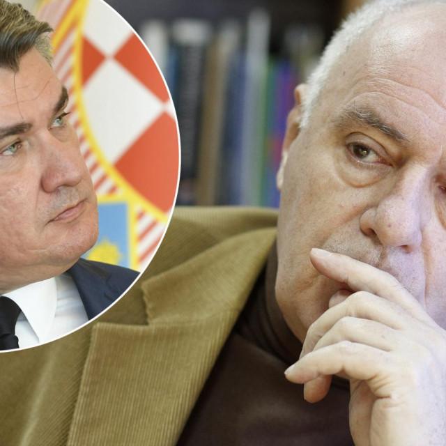 Žarko Puhovski, Zoran Milanović (u krugu)