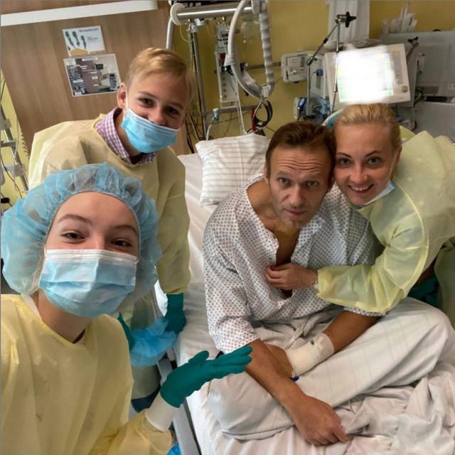 Aleksej Navaljni u bolnici