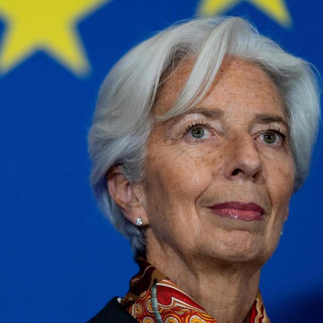 Christine Lagarde, predsjednica ECB-a