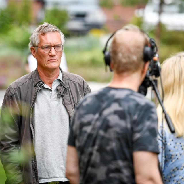 Glavni državni epidemiolog u Švedskoj Anders Tegnell