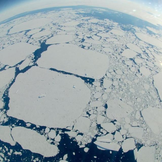 Ledene sante na Antarktici