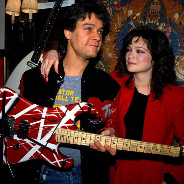 Eddie Van Halen i Valerie Bertinelli 1984.
