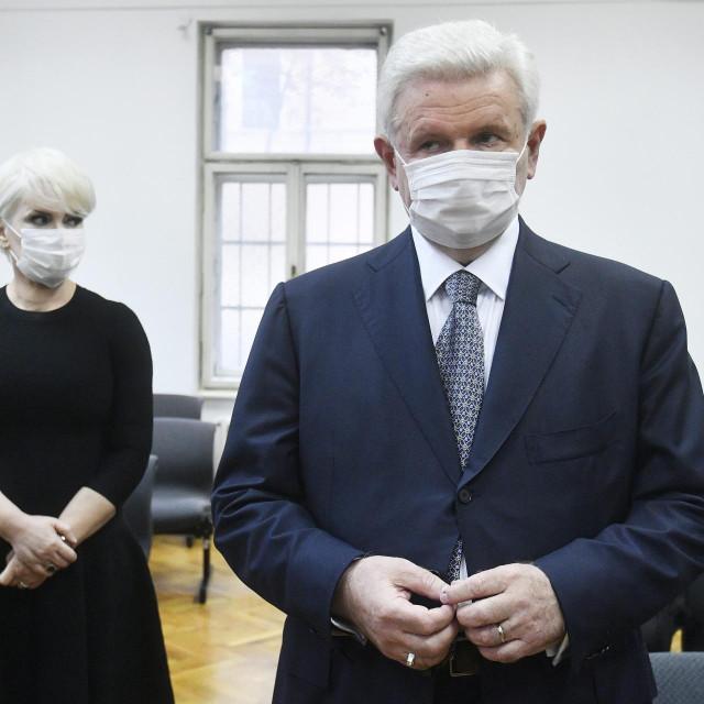 Piruška Canjuga i Ivica Todorić