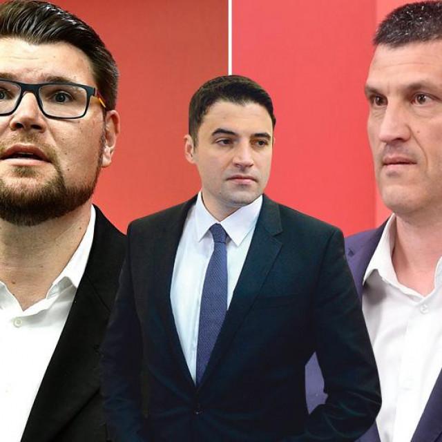 Peđa Grbin, Davor Bernardić i Nikša Vukas