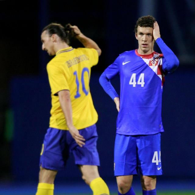 Zlatan Ibrahimović i Ivan Perišić na Maksimiru