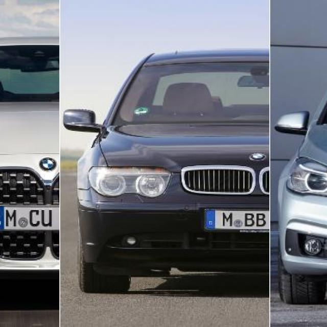 BMW modeli
