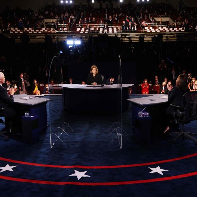 Mike Pence i Kamala Harris, debata