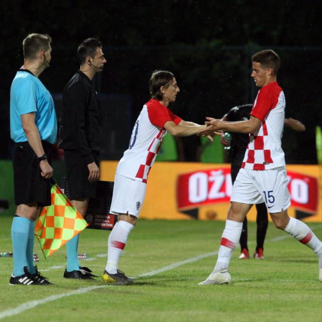 Luka Modrić i Mario Pasalić