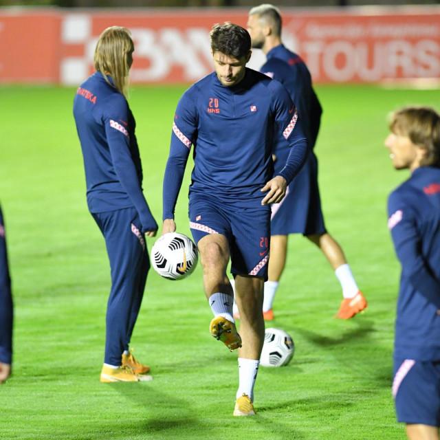 Petković na treningu reprezentacije