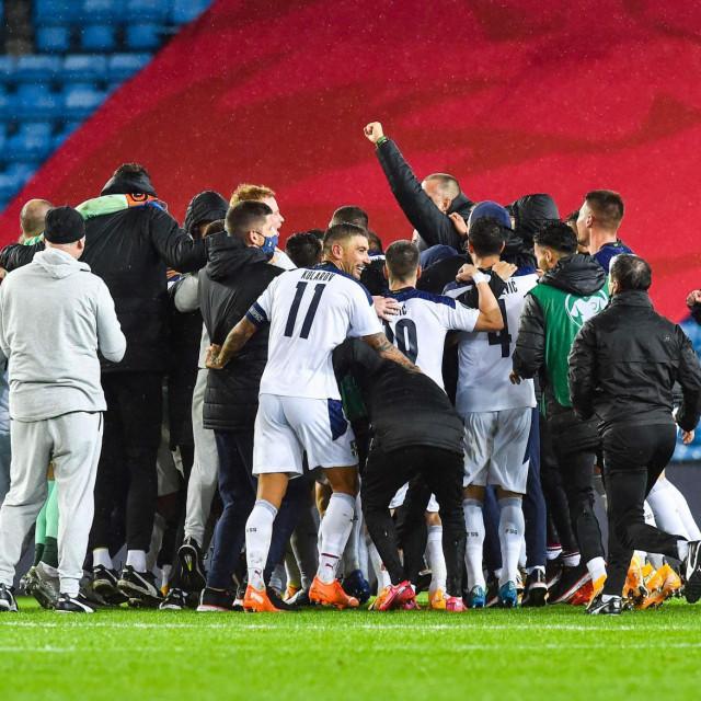 Veliko slavlje Srbije nakon trijumfa u Norveškoj