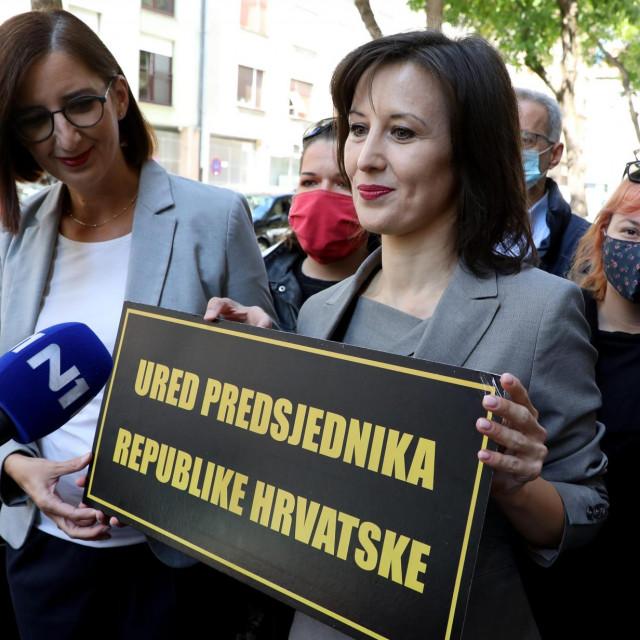 Marijana Puljak i Dalija Orešković