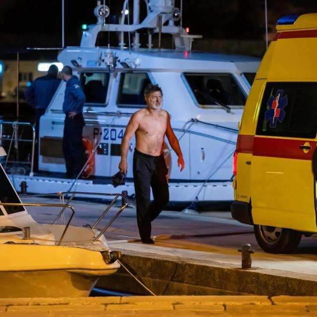 Ribari su prebačeni u Zadar gdje ih je čekala Hitna pomoć
