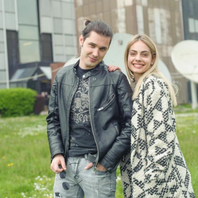 10.04.2019.<br /> Dino Jelusic i Tara Thaler.<br />