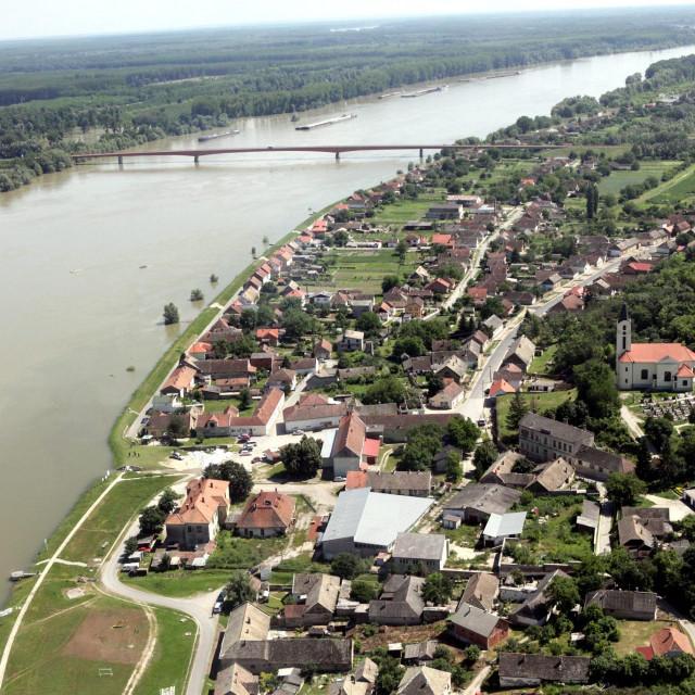 Dunav kod Batine
