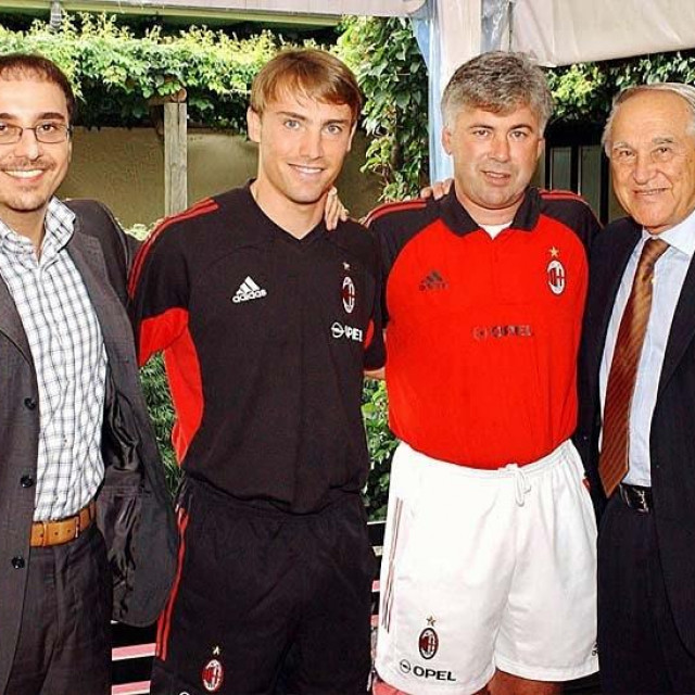 Dario Šimić, Predrag i Marko Naletilić, Carlo Ancelotti