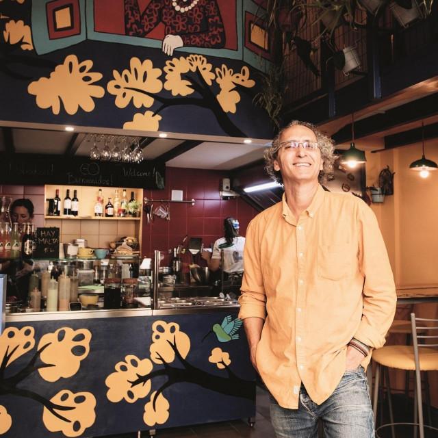 Zagreb 10092020<br /> RICARDO LUQUE restoran Okusi Venezuele<br /> Foto Mario Kucera