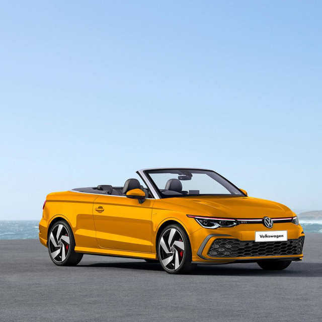 VW Golf Cabrio render