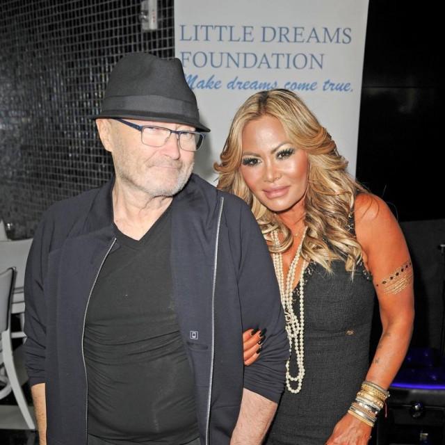 Phil Collins iOrianne Cevey
