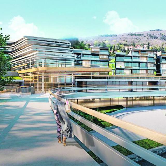 početkom iduće godine krenut će gradnja 50 milijuna eura vrijednog hotela s pet zvjezdica