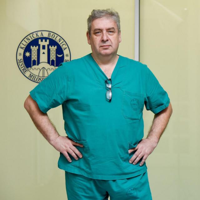 Dr. Mario Zovak, kirurg i ravnatelj KBC Sestre Milosrdnice<br />