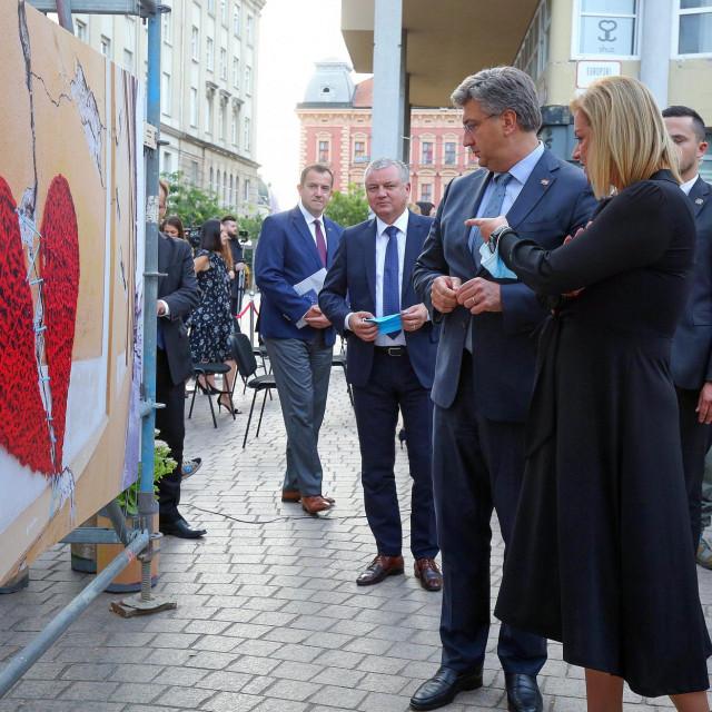Otvorenje izložbe Cropix foto i video agencije pod nazivom 'Zagreb - grad koji treba nasu ljubav'