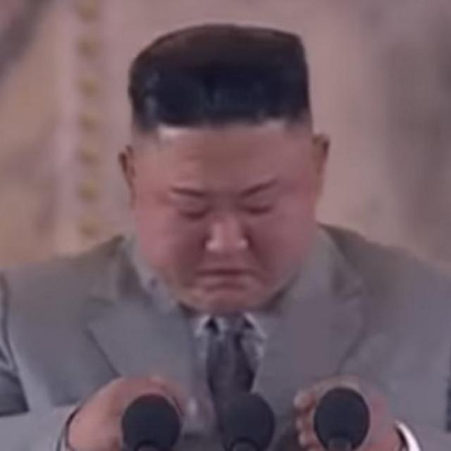 Kim Jong Un tijekom govora