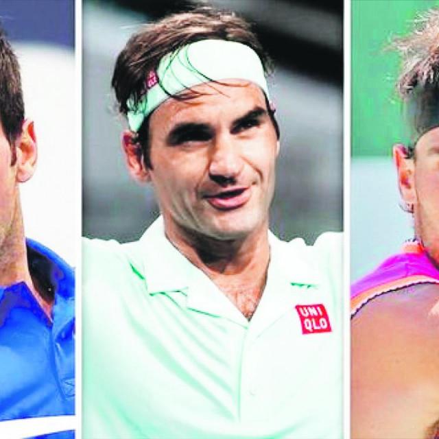 Nikad nismo imali takvu dominaciju 30-godišnjaka kao ovu u režiji Đokovića, Federera i Nadala