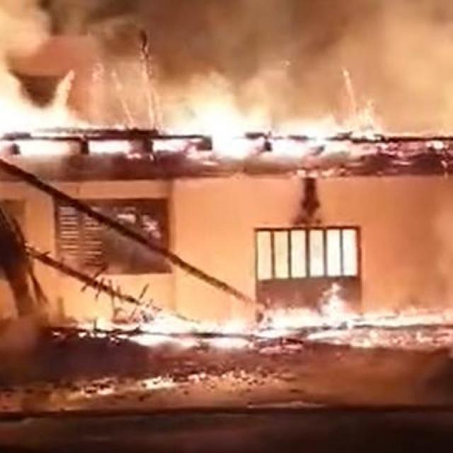 Požar u Mariji Bistrici