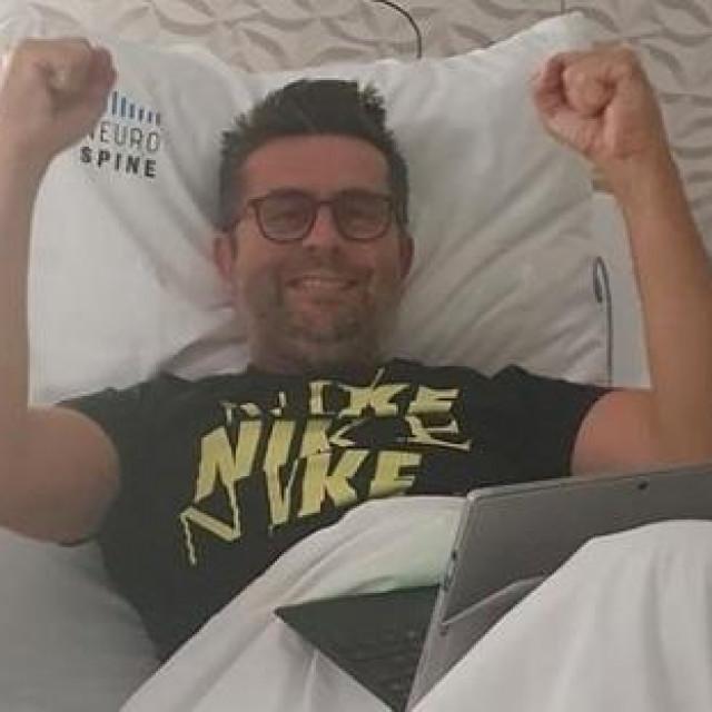 Nenad Bjelica iz bolničke postelje