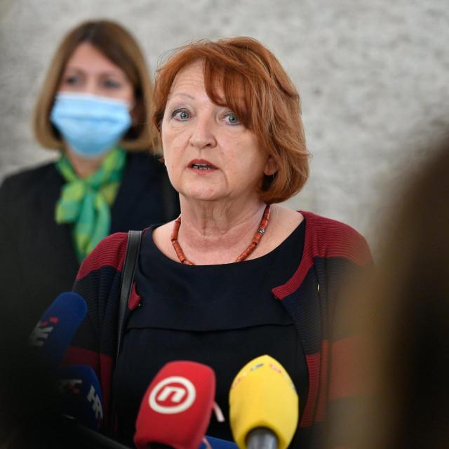 Glavna državna odvjetnica Zlata Hrvoj Šipek i ravnateljica Uskoka Vanja Marušić