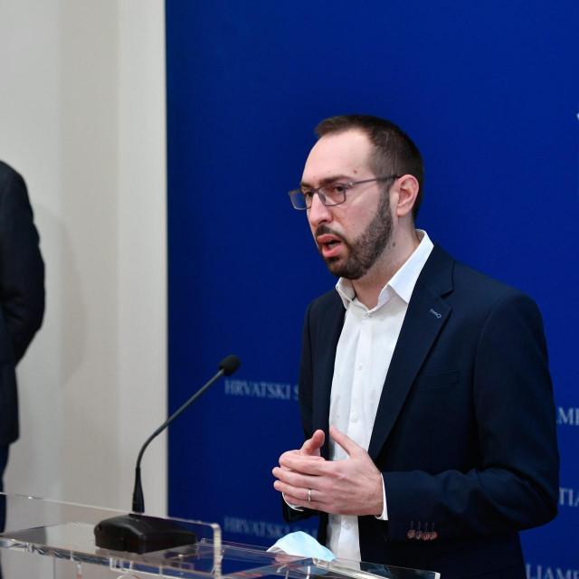 Peđa Grbin i Tomislav Tomašević<br />