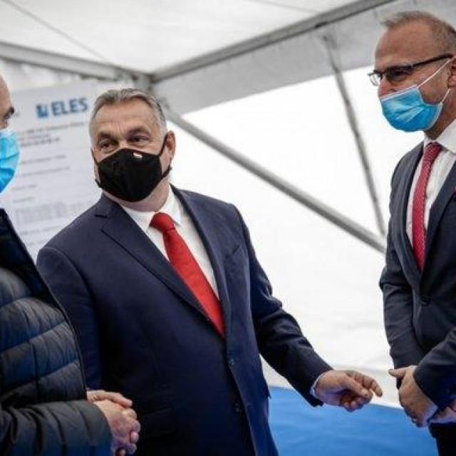 Janez Janša, Viktor Orban i Gordan Grlić Radman