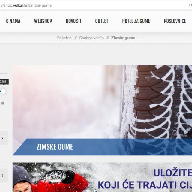 Vulkal Web shop