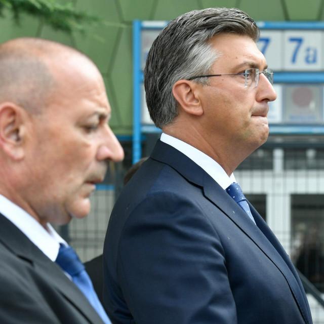 Tomo Medved i Andrej Plenković