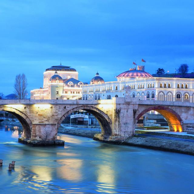 Stari kameni most preko Vardara