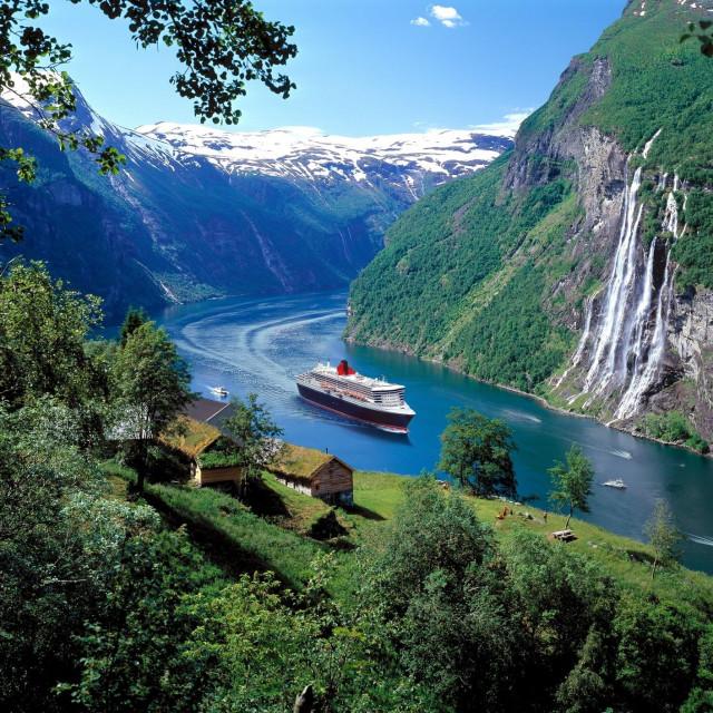 Fjord Geiranger u Norveškoj