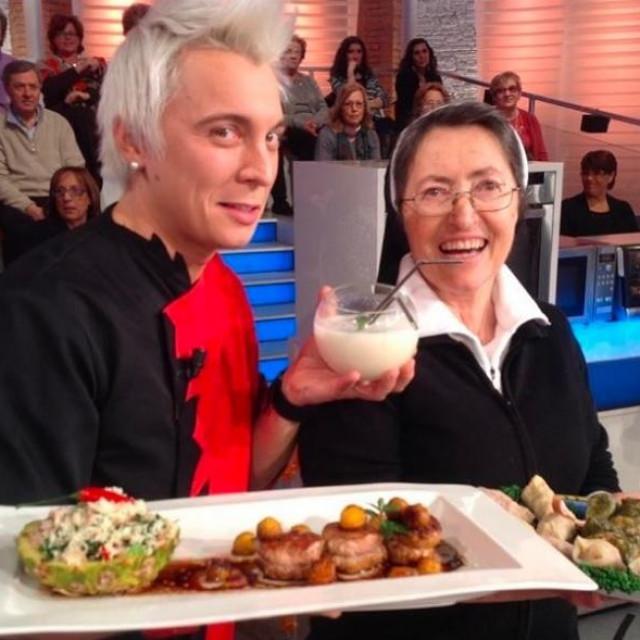 Sestra Stella u emisiji Prova del Cuoco