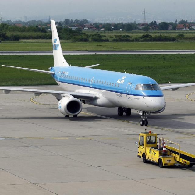 Zakoplov kompanije KLM