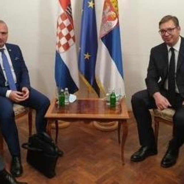 Gordan Grlić Radman i Aleksandar Vučić