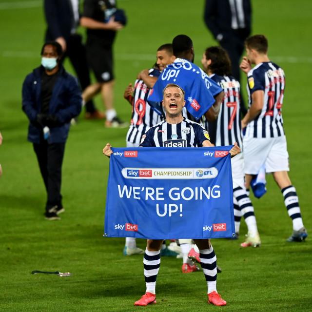 Kamil Grosicki slavi ulazak u Premiership