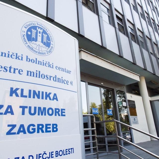 Klinika za tumore u Zagrebu (arhiva)