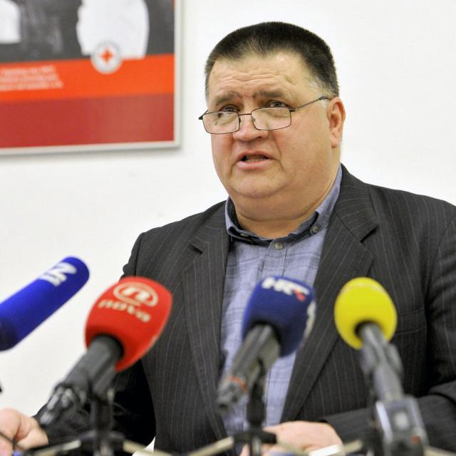 Predsjednik Udruge hrvatskih pacijenata Marijo Drlje<br />