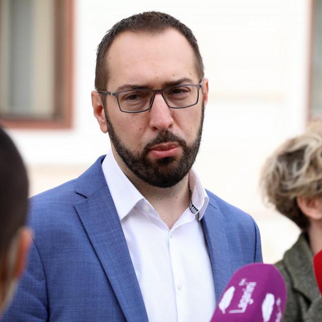 Tomislav Tomašević iz Možemo!