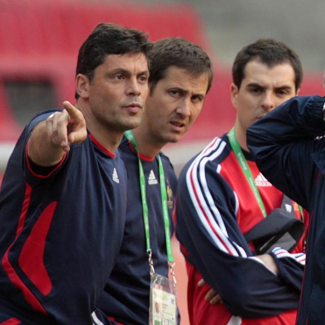 Bruno Martini (lijevo) i bivši francuski izbornik Raymond Domenech
