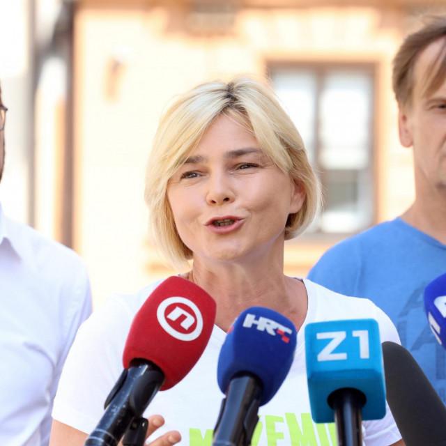 Tomislav Tomašević, Sandra Benčić, Vilim Matula