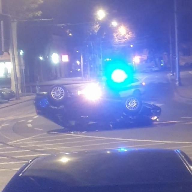 Nesreća u Zagrebu