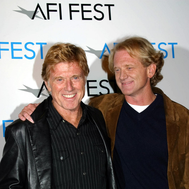 Robert Redford i njegov sin James Redford
