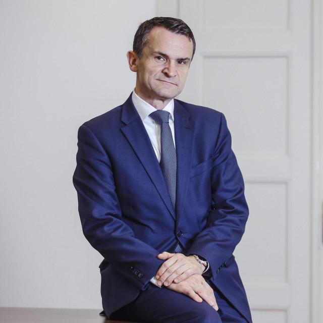 Predsjednik Upravnog vijeća Hanfe Ante Žigman<br />