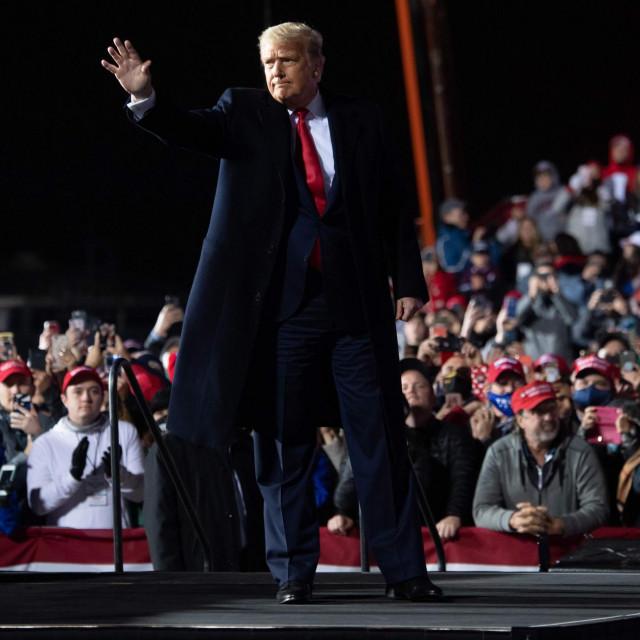 Donald Trump na skupu u Pennsylvaniji