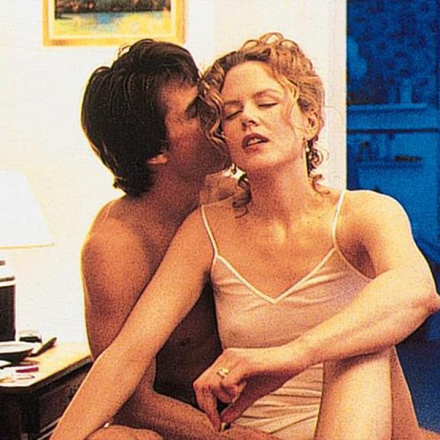 Tom Cruise i Nicole Kidman u filmu 'Oči širom zatvorene'